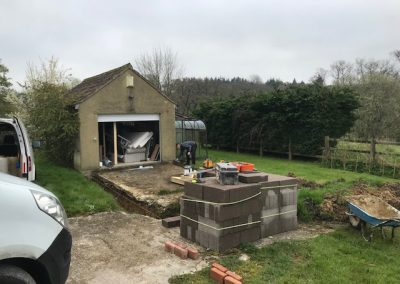 Garage-Extension-Loaring-Developments-Chard-Somerset
